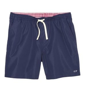 VINEYARD VINES MENS SWIM SHORTS Pink Whale Pouch